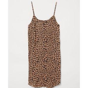 Leopard animal cheetah print festival mini H&M